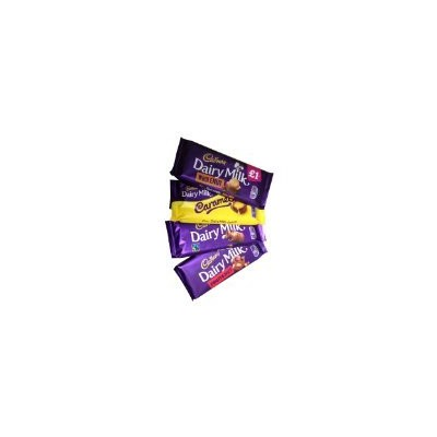 Cadbury Assortment (キャドバリー アソートメント) 8 x 120g - Dairy Milk, Fruit & Nut, Whole Nut, Caramel (デイリーミルク...