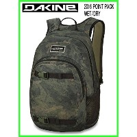 2016 DAKINE POINT PACK WET/DRY PEAT CAMO ダカインバックパック.Dバック