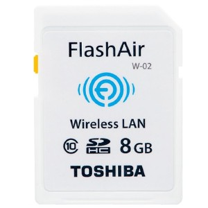 東芝 SDHCメモリーカード(FlashAir) 8GB SD-WC008G
