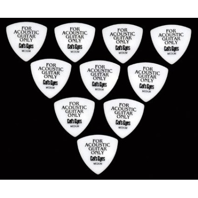 Tokai Cat's Eyes 白 FOR ACOUSTIC GUITAR ONLY MediumPick × 12枚セット