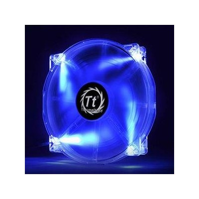 Thermaltake Pure 20 LED/Fan/200mm/800rpm/Black/LED Blue ケースクーラーファン 日本正規代理店品 FN717 CL-F016-PL20BU-A