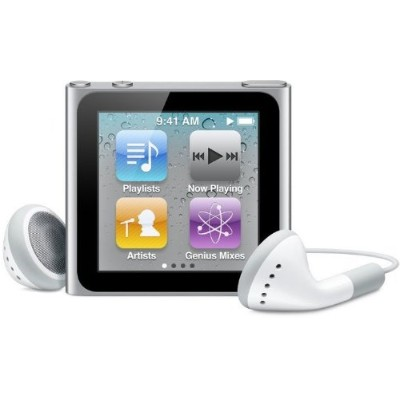 Apple iPod nano 16GB シルバー MC526J/A