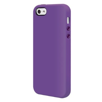 SwitchEasy iPhone 5用シリコンケース Colors for iPhone 5 Viola ヴィオラ SW-COL5-PU