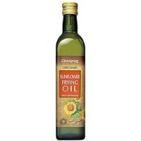 Clearspring Organic Sunflower Frying Oil (500ml) 有機ヒマワリ揚げ油をclearspringは( 500ミリリットル)