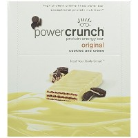Power Crunch High Protein Energy Snack, Cookies & Creme, 1.4-Ounce Bars (Pack of 12) by Bio...