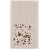 SNOOPY with Music スヌーピー SCLOTH-HR 楽器用クロス