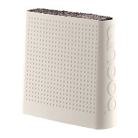 Bodum Bistro - Knife Holder Block - Storage for Easy Access and Safety with Non-Slip Feet - Plastic...