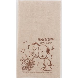 SNOOPY with Music スヌーピー SCLOTH-TU 楽器用クロス