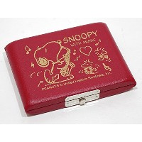 SNOOPY with Music SNOOPY/アルトサックス用リードケース SAS-05R(レッド)(5枚入)【SNOOPY with Music】