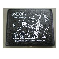 SNOOPY with Music SNOOPY/テナーサックス用リードケース STS-05(5枚入)【SNOOPY with Music】