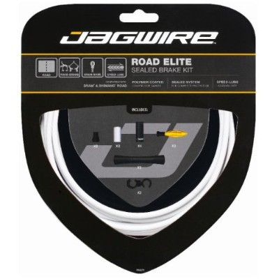 JAG WIRE(ジャグワイヤー) Road Elite Sealed Brake Kit ホワイト RCK403