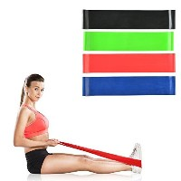 Image Exercise Resistance Loop Bands-physical Therapy Bands-fitness Theraband Stretch-elastic Power...