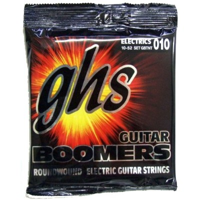 GHS BOOMERS GBTNT Thin/Thick(10-52) ブーマーズ エレキギター弦 【国内正規品】