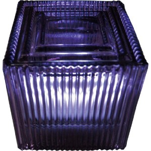 HOUSE USE PRODUCTS(ハウスユーズプロダクツ) LED グラスライト LED SQUARE GLASS LIGHT Suff PURPLE [正規代理店品]