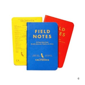 FIELD NOTES COUNTY FAIR 3-PACKS (C)カリフォルニア [FB004]