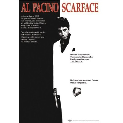 SCARFACE POSTER (61cm x 91,5cm)