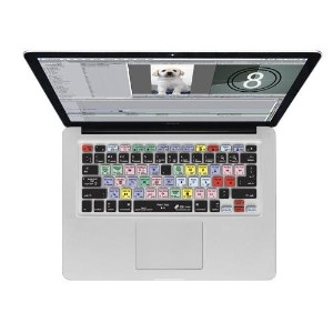 KB Covers Final Cut Pro/Express QWERTY キーボードカバー MacBook Air/Pro用 17664