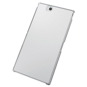 ELECOM Xperia Z Ultra SOL24 SGP412JP シェルカバー クリア 保護フィルム付 PA-SOL24PVCR