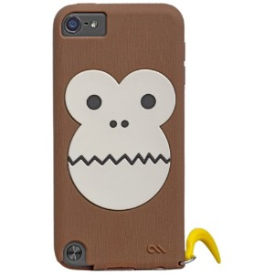 Case-Mate 日本正規品 iPod touch 5th 6th Generation 共用 CREATURES: Bubbles Monkey Case, Brown クリーチャーズ:...
