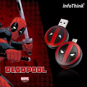 InfoThink / DeadPool デッドプール / OTG USB Flash Drive 16GB / IT-USB3-102(DeadPool)16GB [並行輸入品]
