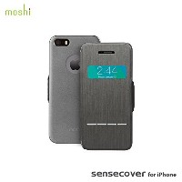 moshi SenseCover for iPhone SE/5s/5 Steel Black 【日本正規代理店品】