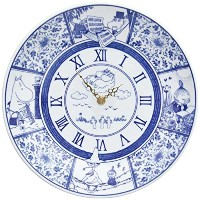 moomin × amabro SOMETSUKE CLOCK TIME GOES ON アマブロ ソメツケ クロック [ ブルー ]