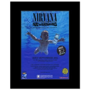 NIRVANA - Nevermind 20th Anniversary Mini Poster - 28.5x21cm