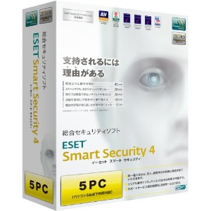 ESET Smart Security V4.0 5PC