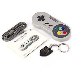 【SFC30 / 日本語説明書付】GAME CONTROLLER 8BITDO Wireless Bluetooth搭載( iOS / Android Gamepad - PC Mac Linux ...