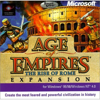 Age of Empires: Rise of Rome Expansion Pack (Jewel Case) (輸入版)