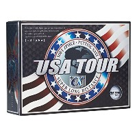 アサヒゴルフ USA TOUR DISTANCE +α USA TOUR DISTANCE +α 12P ユニセックス USA TOUR DISTANCE +α ホワイト
