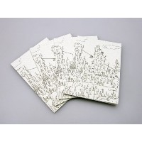 ReUdo Thinking Power Notebook ジャーニー(A5ノート縦長) 4冊セット TPN-A5T