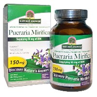 海外直送品 Nature's Answer Pueraria Mirifica, 60 Vcaps