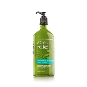 Aromatherapy Stress Relief Eucalyptus Spearmint Body Lotion by Bath & Body Works [並行輸入品]