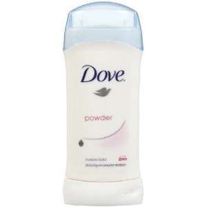 Dove Invisible Solid Anti-Perspirant and Deodorant, Powder - 2.6 Oz/ pack, 4 pack by Dove [並行輸入品]