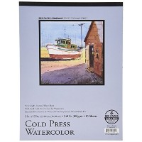 Bee Paper Cold Press 140 Pound Watercolor Paper Pad, 9-Inch by 12-Inch by Bee Paper Company [並行輸入品]
