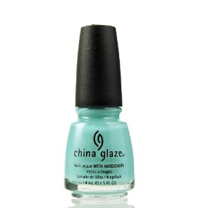 CHINA GLAZE Nail Lacquer with Nail Hardner - For Audrey