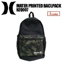 Hurley ハーレー バックパック リュック●MATER PRINTED BACKPACK HZQ007
