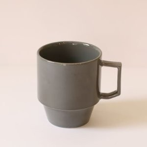 【HASAMI】BLOCK MUG BIG 波佐見焼き (GRAY)