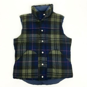 MT.RAINIER DESIGN REVERSIBLE CAL DOWN VEST