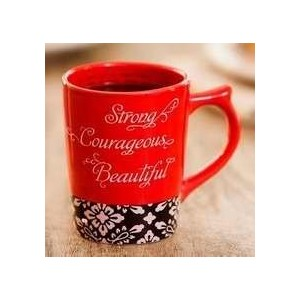 Mug Cup  赤 マグカップ  (Strong and Beautiful) 82905