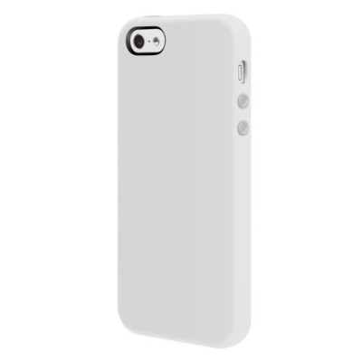 SwitchEasy iPhone 5用シリコンケース Colors for iPhone 5 Milk ミルク SW-COL5-W