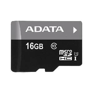 A-DATA Technology Premier microSDHC UHS-I U1 Class10 メモリーカード 16GB AUSDH16GUICL10-R