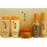 [Sulwhasoo] Basic Kit 5 Items(Water/Emulsion/Serum/Ginseng Cream/Eye Cream)/トラベルミニサイズキットセット - スキン...