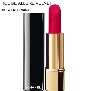 CHANEL-Lipstick ROUGE ALLURE VELVET (38 LA FASCINANTE) (parallel imported item 並行輸入品)