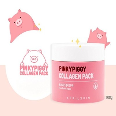 April Skin Pinky Piggy Collagen Pack 100g/100% Authentic direct from Korea/w Gift Sample [並行輸入品]