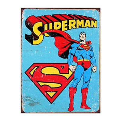 Tin Sign Superman 【サインボード】 #58333