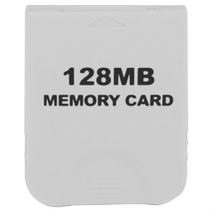 eForBuddy 128MB Memory Card for Nintendo Wii  任天堂 Wii 用128MB メモリーカード ホワイト