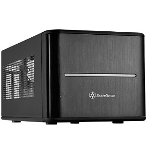 SilverStone 2 5 ホットスワップ*8 CASE Mini ITX 黒 SST CS280B