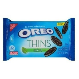 Oreo Thins Mint Creme 10.1oz Package by Oreo [並行輸入品]